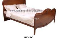 tempat tidur minimalis doble