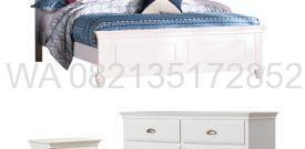 Tempat Tidur Putih Duco