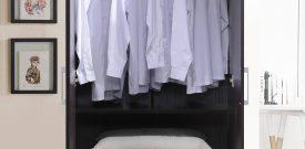 Lemari Pakaian Jati Minimalis