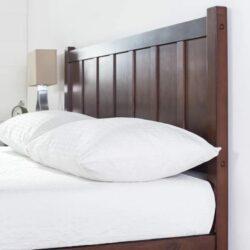 Tempat Tidur Sederhana Kayu Jati Ukuran King