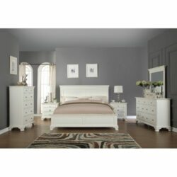 Kamar Set Minimalis Putih Porter Terbaru